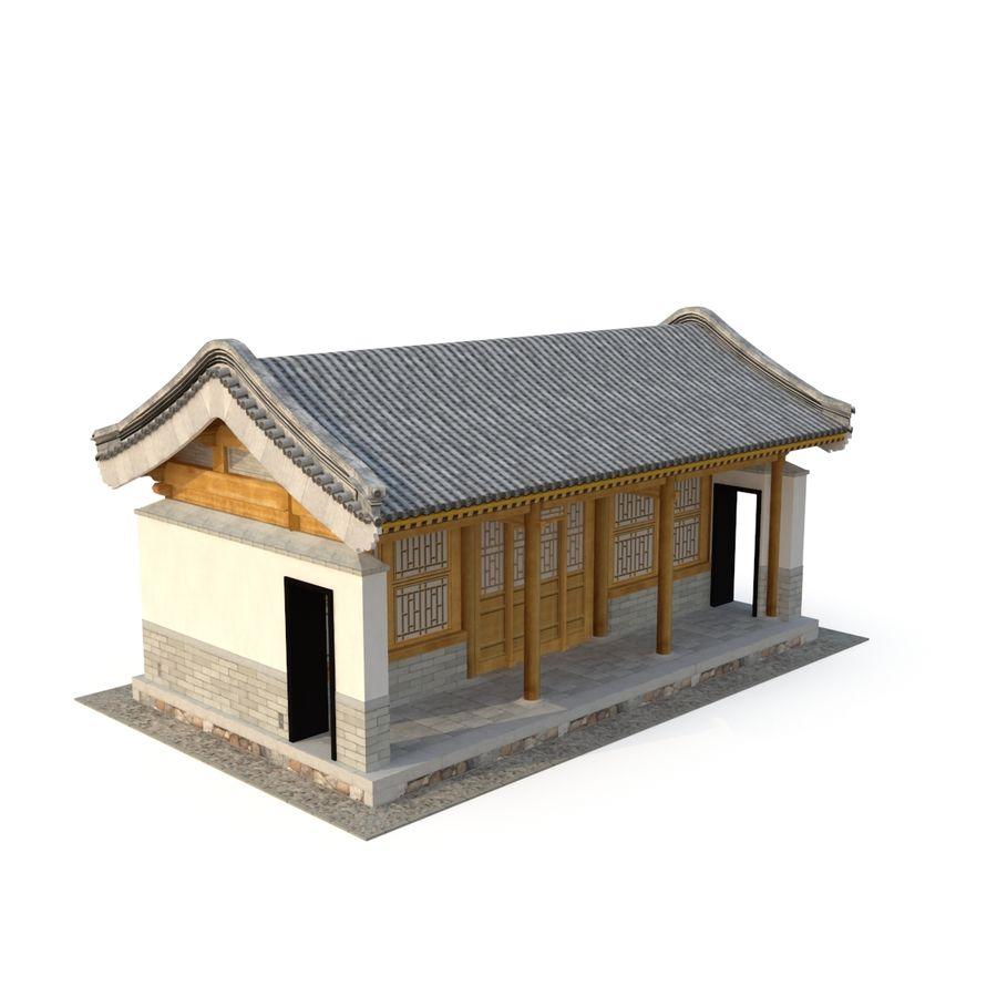 Pokój dystrybucji starożytnej chińskiej architektury 03 royalty-free 3d model - Preview no. 5