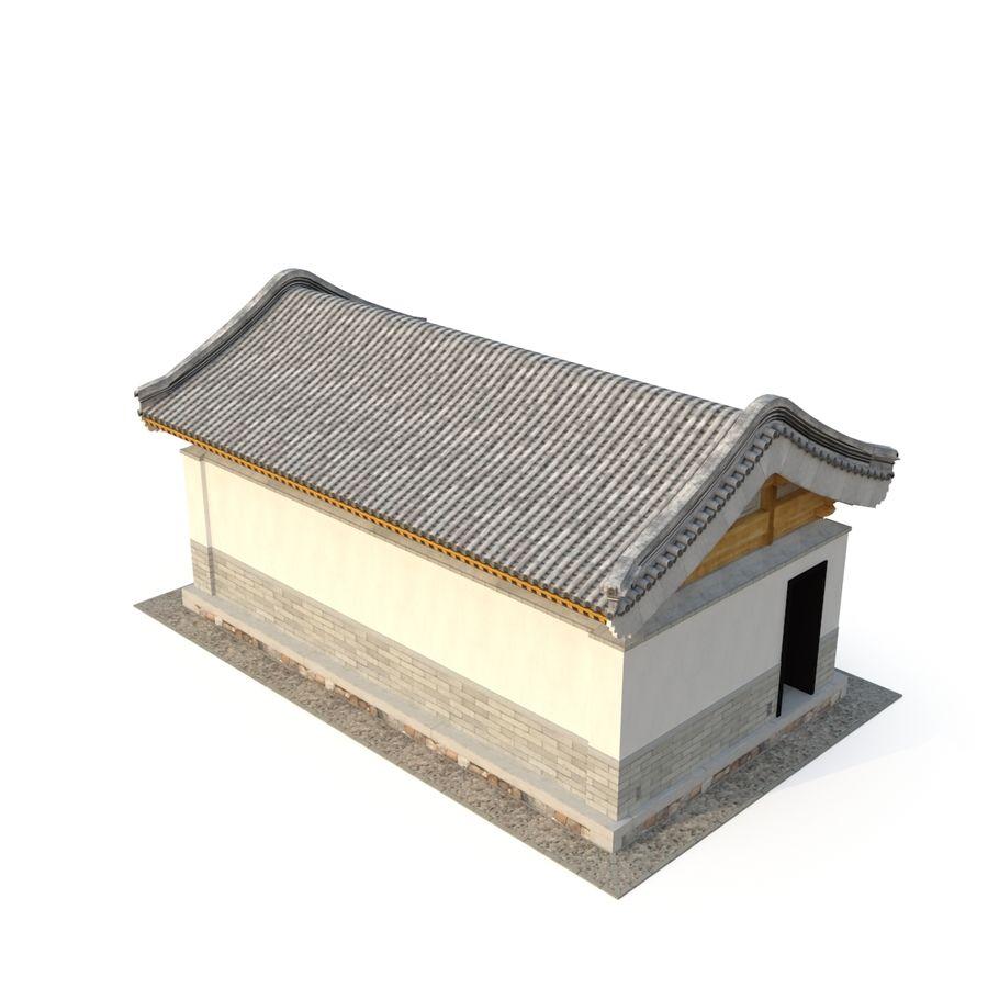 Pokój dystrybucji starożytnej chińskiej architektury 03 royalty-free 3d model - Preview no. 4