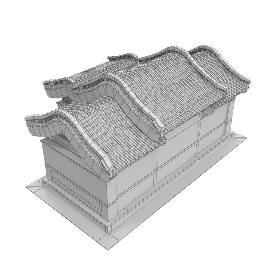 Pokój dystrybucji architektury chińskiej 04 royalty-free 3d model - Preview no. 10
