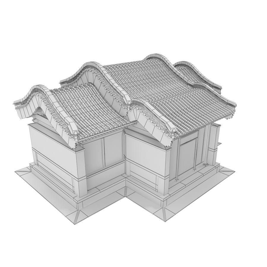 Pokój dystrybucji architektury chińskiej 04 royalty-free 3d model - Preview no. 9