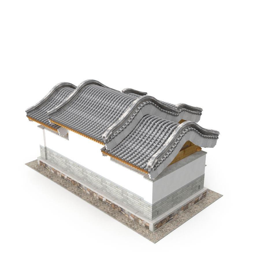 Pokój dystrybucji architektury chińskiej 04 royalty-free 3d model - Preview no. 4