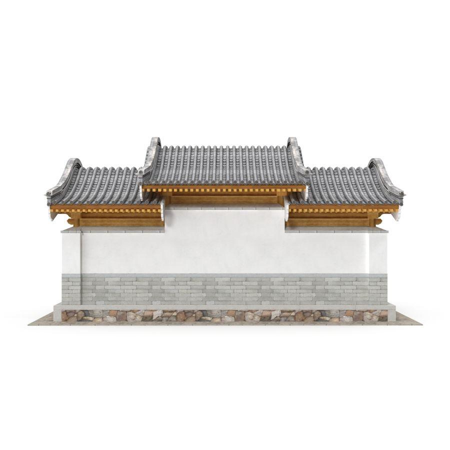 Pokój dystrybucji architektury chińskiej 04 royalty-free 3d model - Preview no. 7