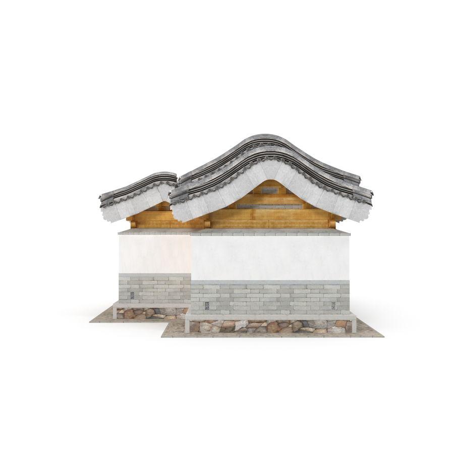 Pokój dystrybucji architektury chińskiej 04 royalty-free 3d model - Preview no. 6