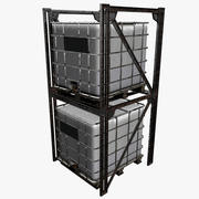 IBC Containers Cargo 3d model