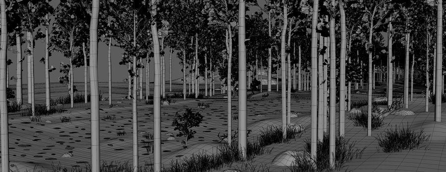Autumn Landscape royalty-free 3d model - Preview no. 19