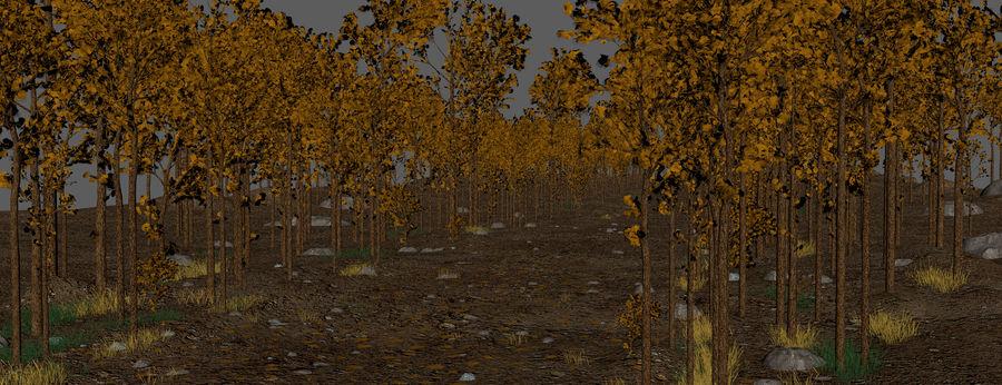Autumn Landscape royalty-free 3d model - Preview no. 12
