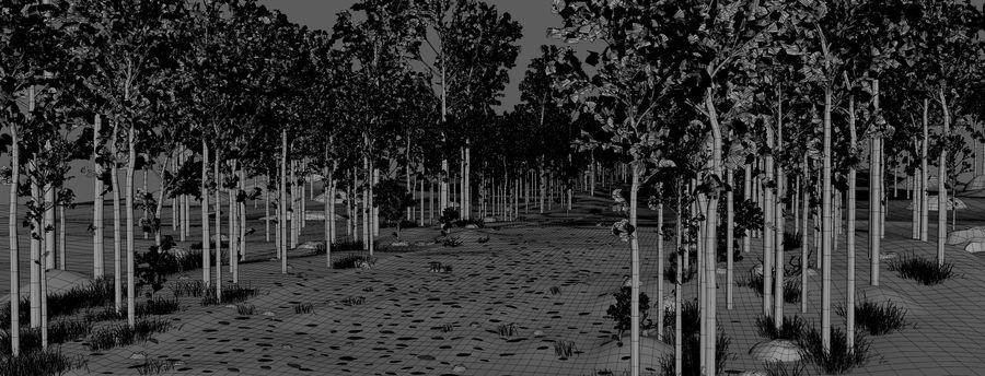Autumn Landscape royalty-free 3d model - Preview no. 13