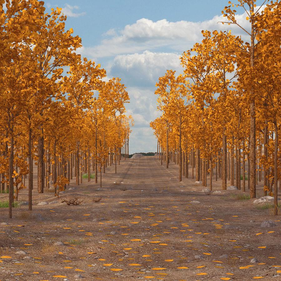 Autumn Landscape royalty-free 3d model - Preview no. 7
