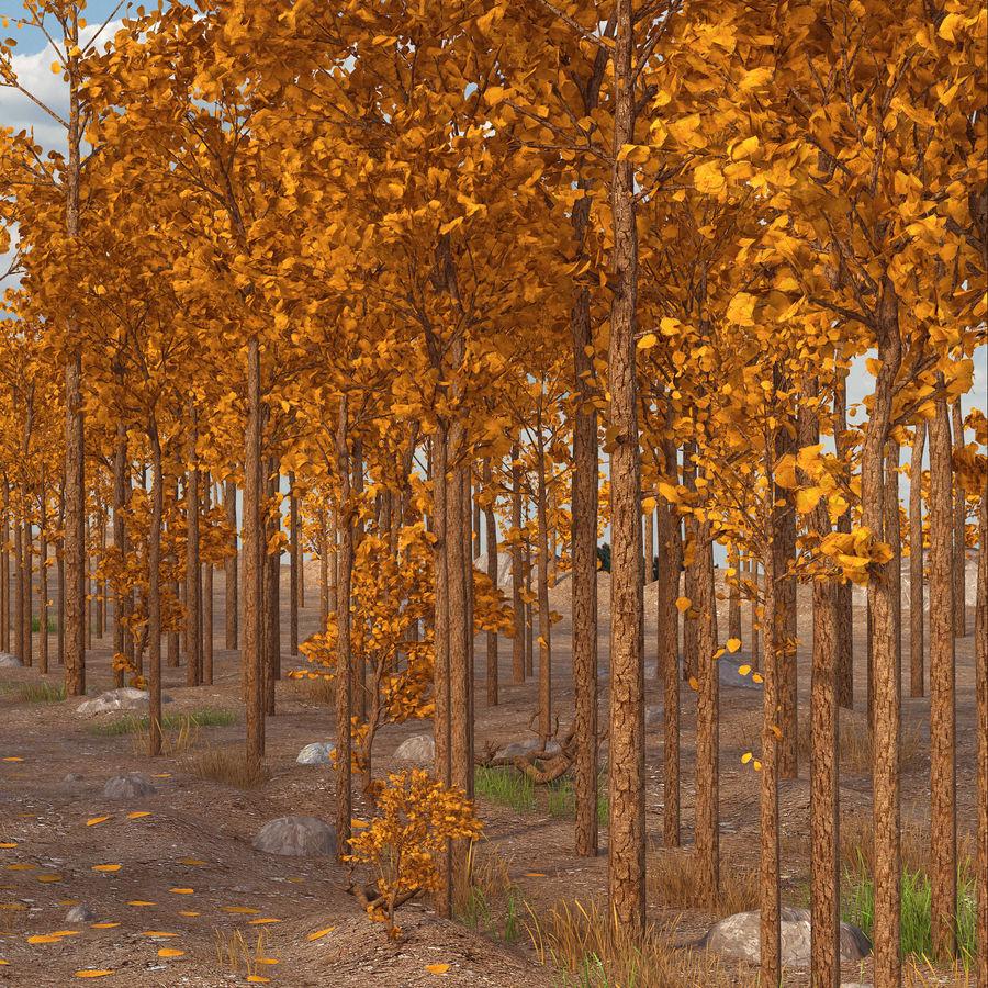 Autumn Landscape royalty-free 3d model - Preview no. 6