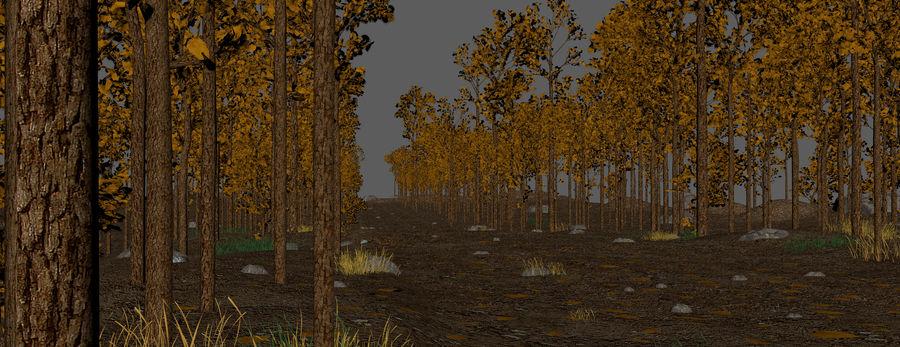 Autumn Landscape royalty-free 3d model - Preview no. 8