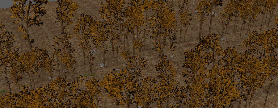 Autumn Landscape royalty-free 3d model - Preview no. 14