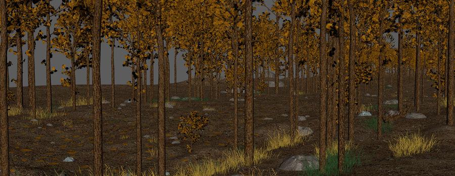 Autumn Landscape royalty-free 3d model - Preview no. 18