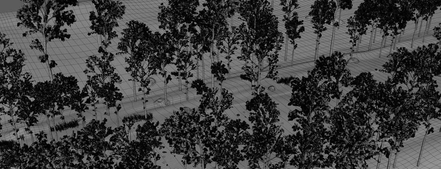 Autumn Landscape royalty-free 3d model - Preview no. 15