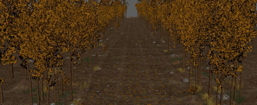 Autumn Landscape royalty-free 3d model - Preview no. 16