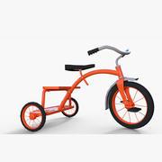 triciclo modelo 3d