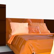 p0015 - cama modelo 3d