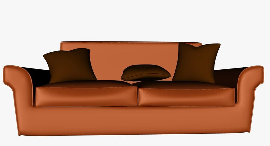 p0018 - couch royalty-free 3d model - Preview no. 5