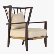 Vintners Wing fauteuil 3d model