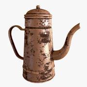 Ржавый чайник 3d model