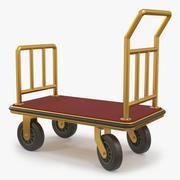 Trolley de equipaje Gold modelo 3d