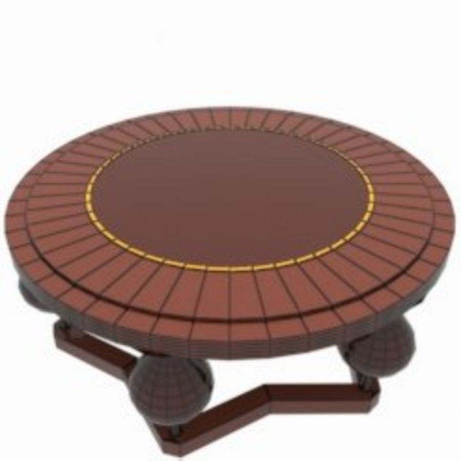 Coffee Table royalty-free 3d model - Preview no. 6