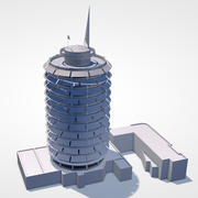 Capitol Records Building 3d model
