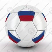 World Trophy Cup 2018 Russia Ball 02 3d model