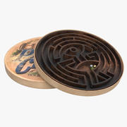 Maiali nel gioco Labirinto di trifoglio 3d model