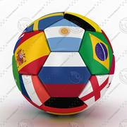 World Trophy Cup 2018 Russia Ball 01 3d model