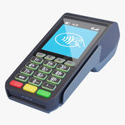 POS платежный терминал (1) 3d model