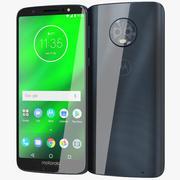 Motorola Moto G6 Plus Indigo Blue 3d model