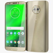 Motorola Moto G6 Plus Gold 3d model
