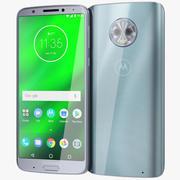 Motorola Moto G6 Plus Silver 3d model