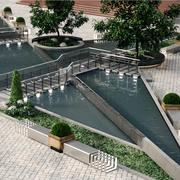 Paysage du parc 6 3d model