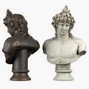 Dionysus Bust 3d model