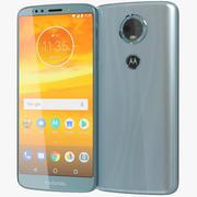 Motorola Moto E5 Plus Blue 3d model