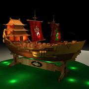 Çin önemsiz gemi 3d model