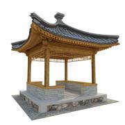 Four corner Pavilion 3d model