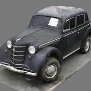 Сканирование старого автомобиля Opel Kadett 3d model