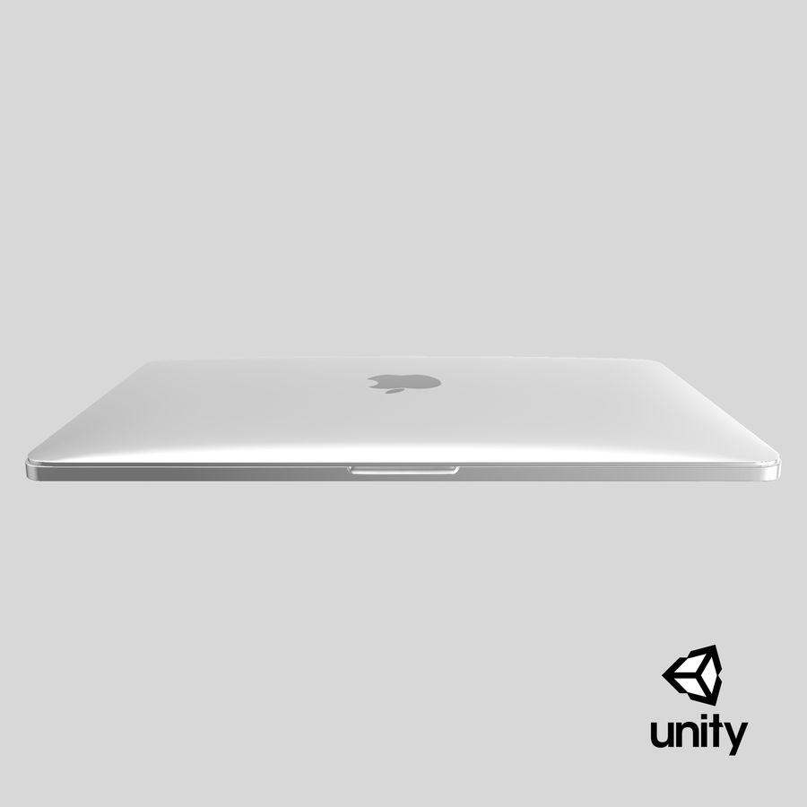 Apple Macbook Pro已关闭 royalty-free 3d model - Preview no. 26