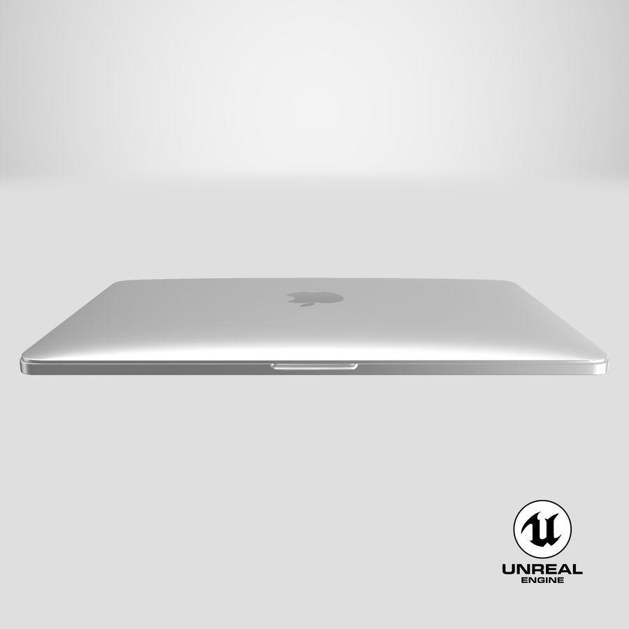 Apple Macbook Pro已关闭 royalty-free 3d model - Preview no. 25