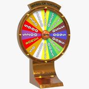 命运之轮赌场 3d model