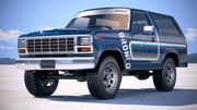 Ford Bronco 1980 3d model