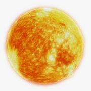 Sun Photorealistic 5K 3d model