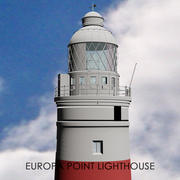 Gibraltar Europa Point Lighthouse 3d model