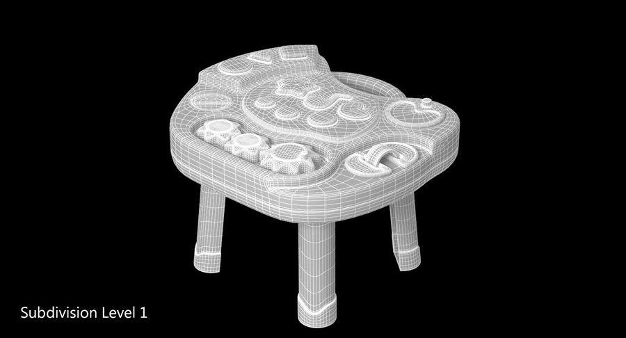 インタラクティブな子供用テーブル royalty-free 3d model - Preview no. 10