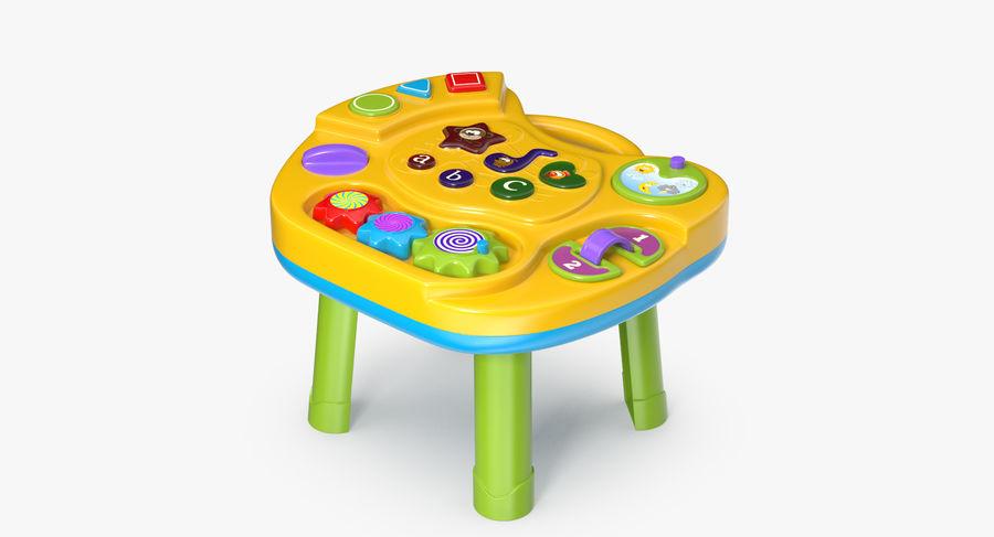インタラクティブな子供用テーブル royalty-free 3d model - Preview no. 2