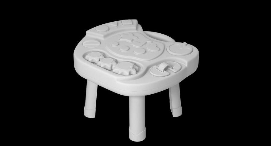 インタラクティブな子供用テーブル royalty-free 3d model - Preview no. 14