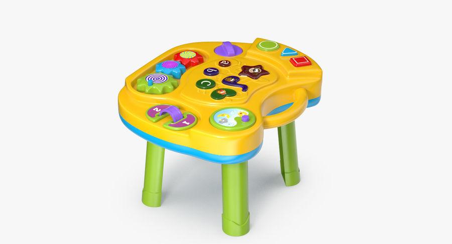 インタラクティブな子供用テーブル royalty-free 3d model - Preview no. 8