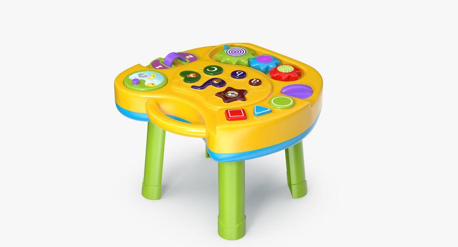 インタラクティブな子供用テーブル royalty-free 3d model - Preview no. 7